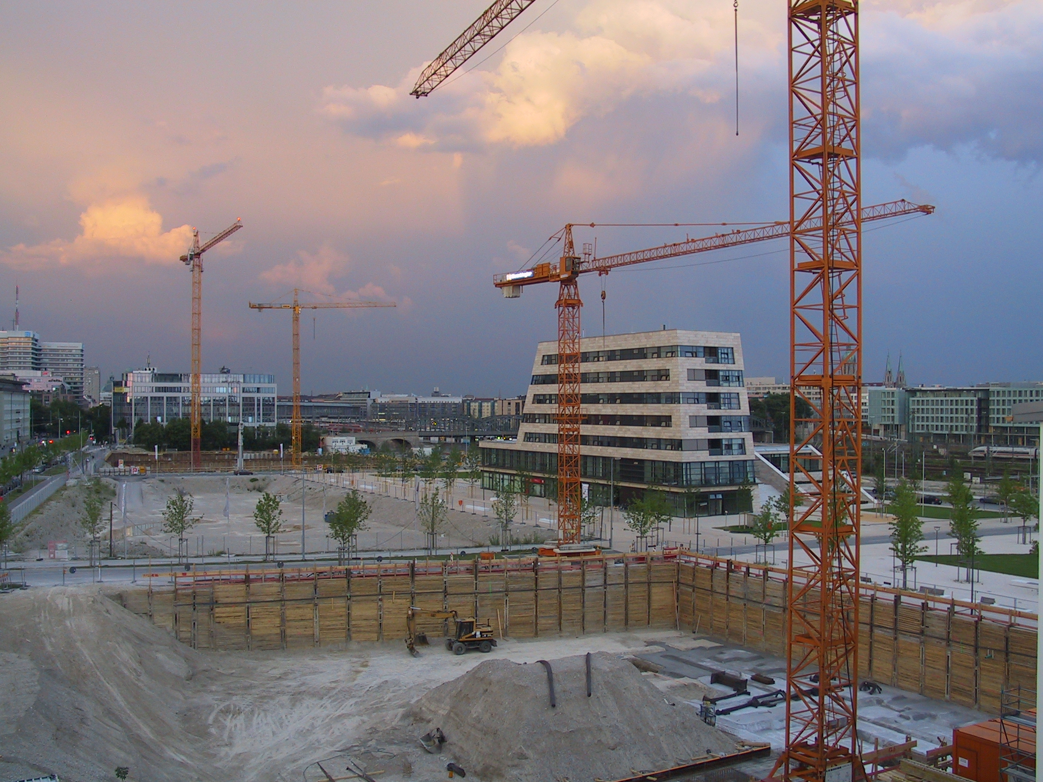 Neubaugebiet Arnulfpark 2007
