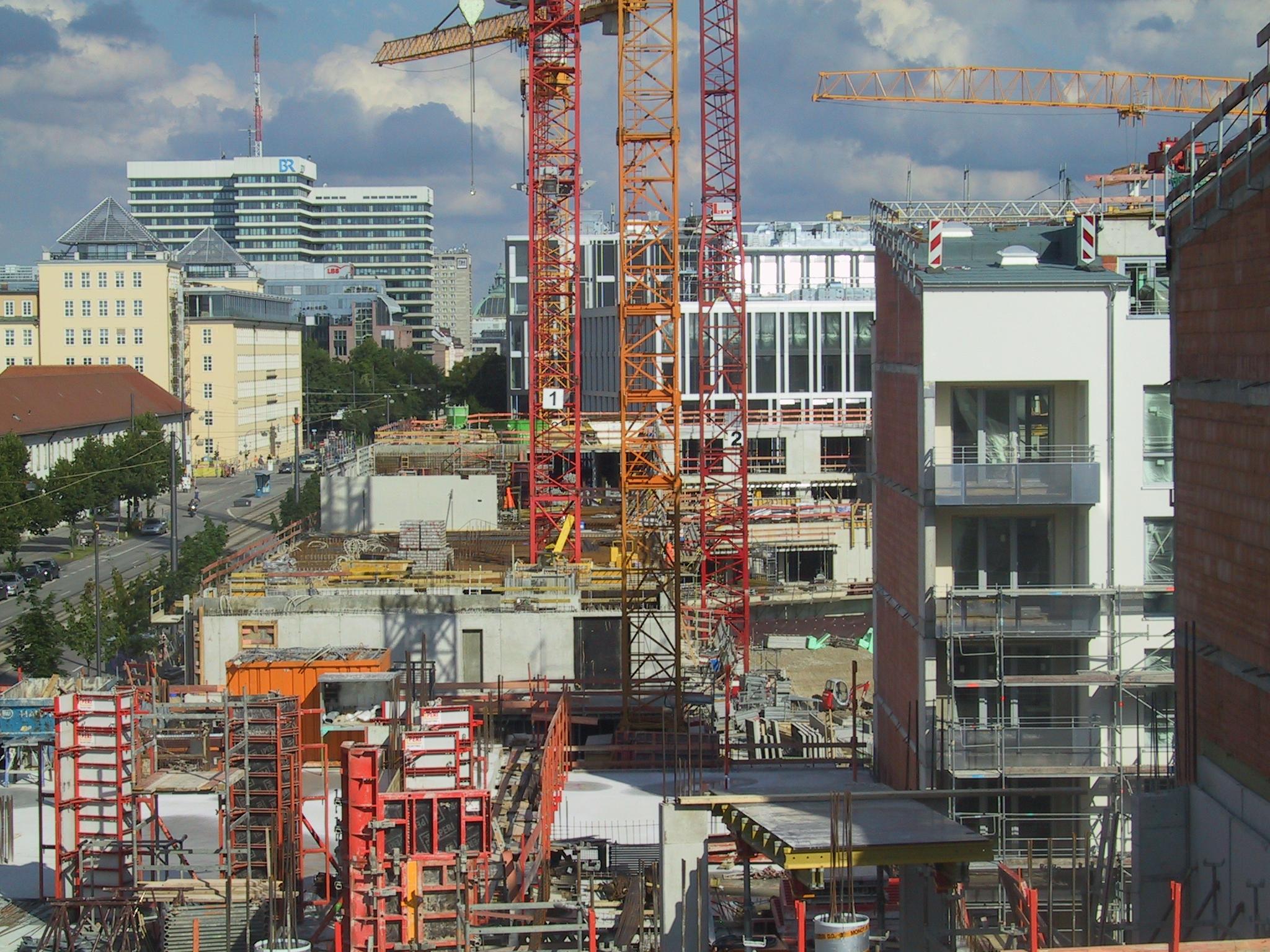 Neubaugebiet Arnulfpark 2008