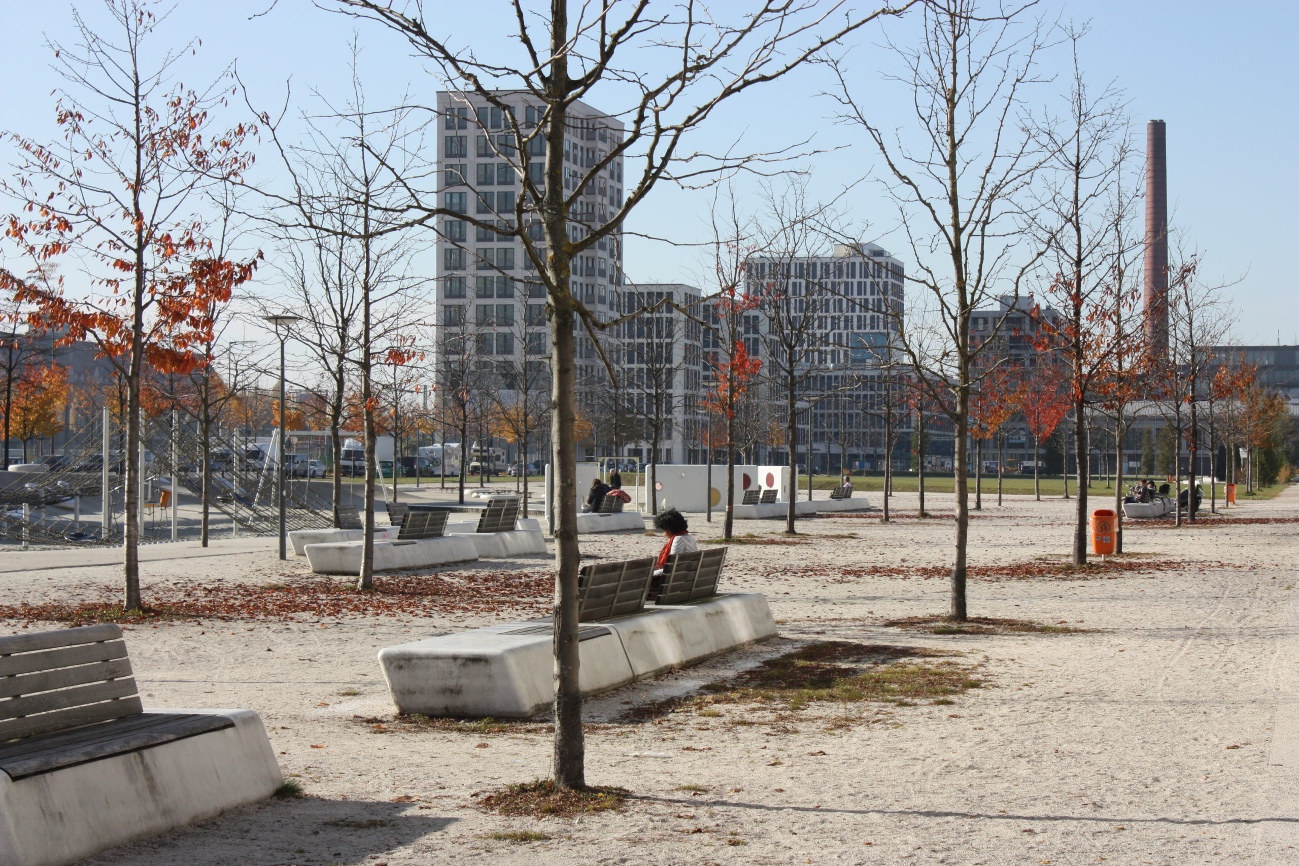 Neubaugebiet Arnulfpark 2011