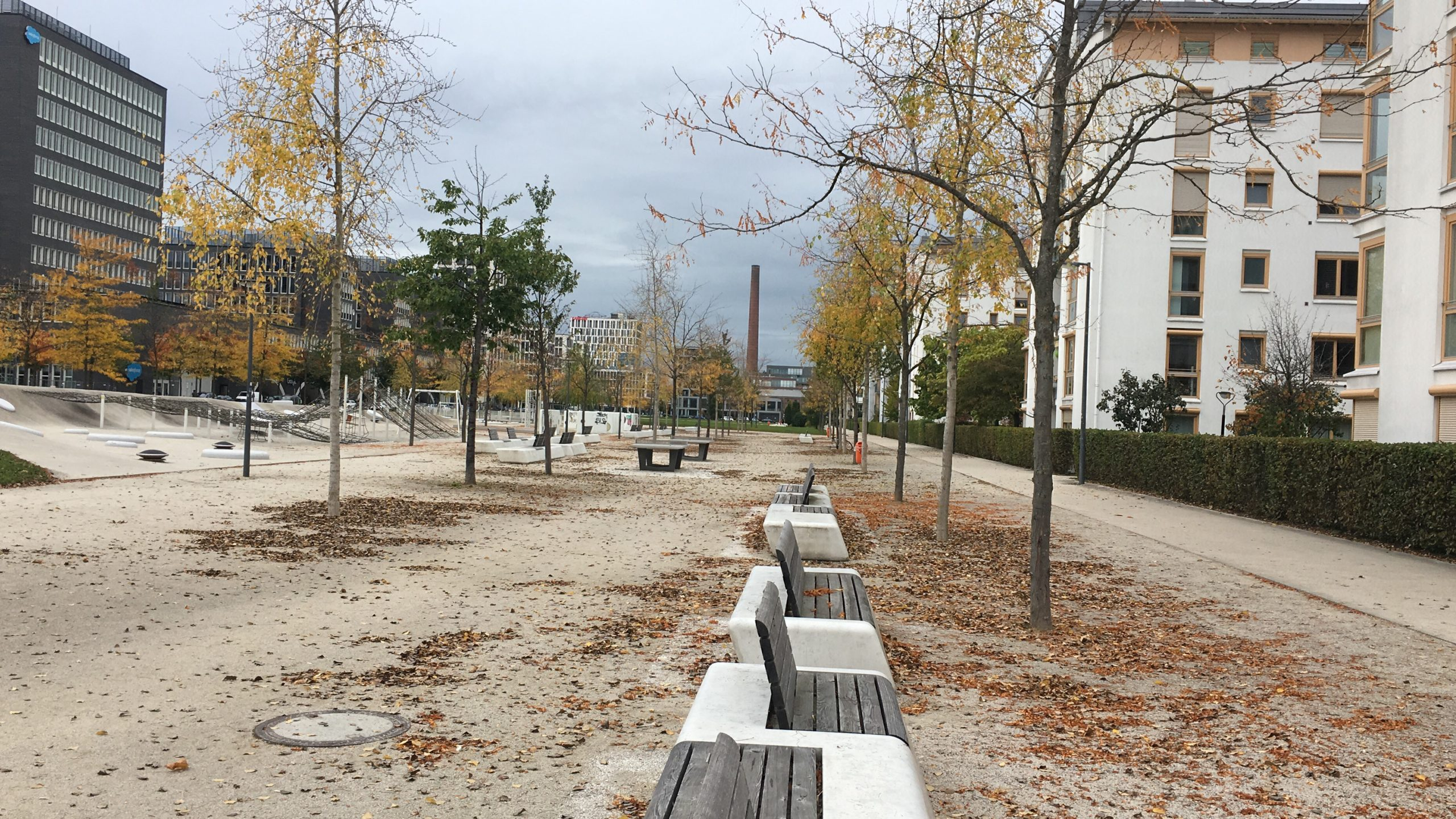 Neubaugebiet Arnulfpark 2017
